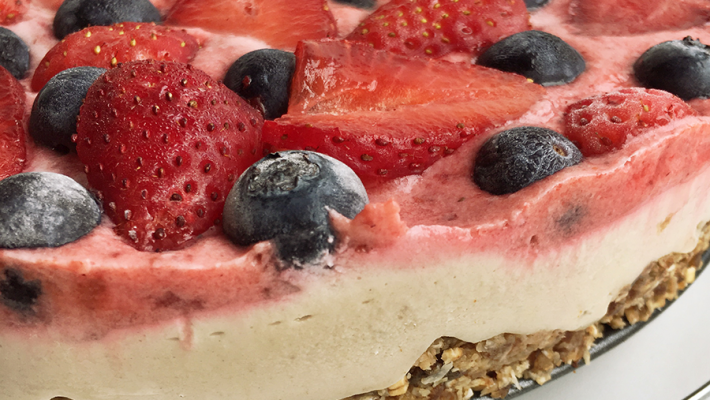 Berry Cheesecake (without the cheese)